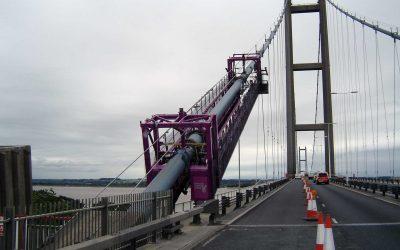 Humber Bridge High Level Cable Crawler Gantries