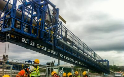 Forth Road Bridge Crawler Gantries