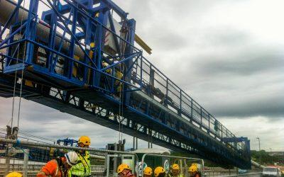 Forth Road Bridge Crawler Gantries