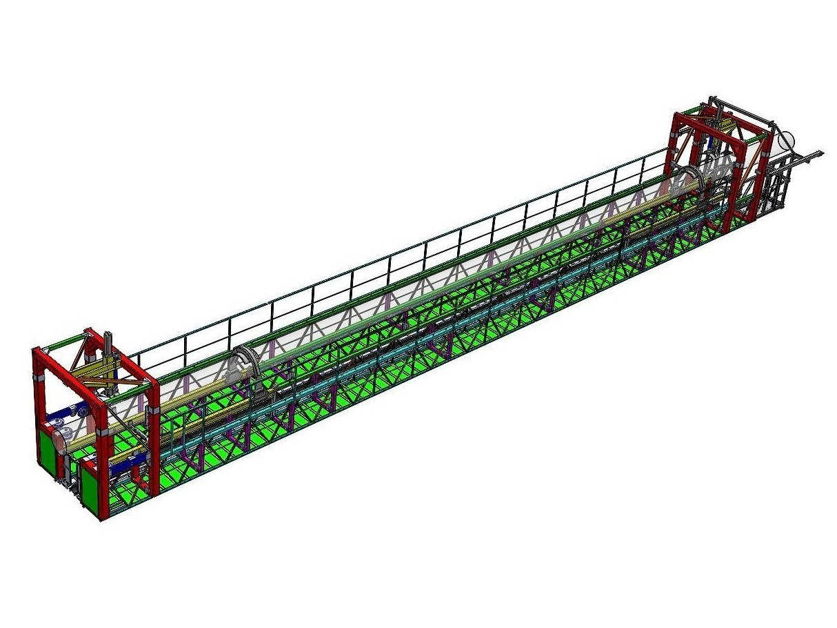 Humber Cable crawler 3D model