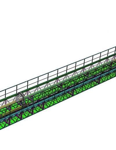 Humber cable crawler platform