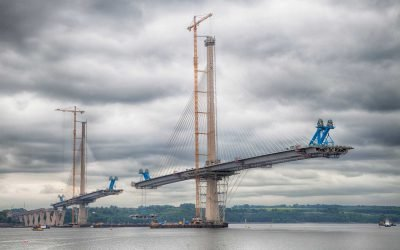 Queensferry Crossing Welding Gantries