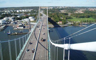 Älvsborg Bridge Gantry, Sweden