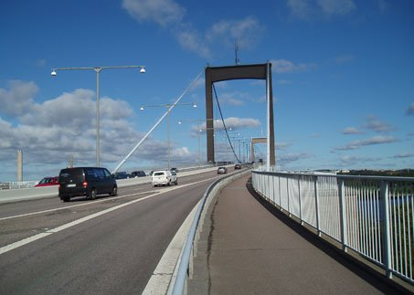 Älvsborg Bridge, Sweden. Image courtesy of The Spencer Group