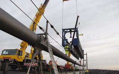Humber Bridge Dehumidification Project Lift Off