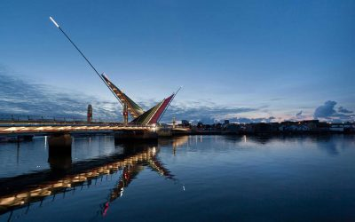 Poole Harbour Twin Sails Bridge