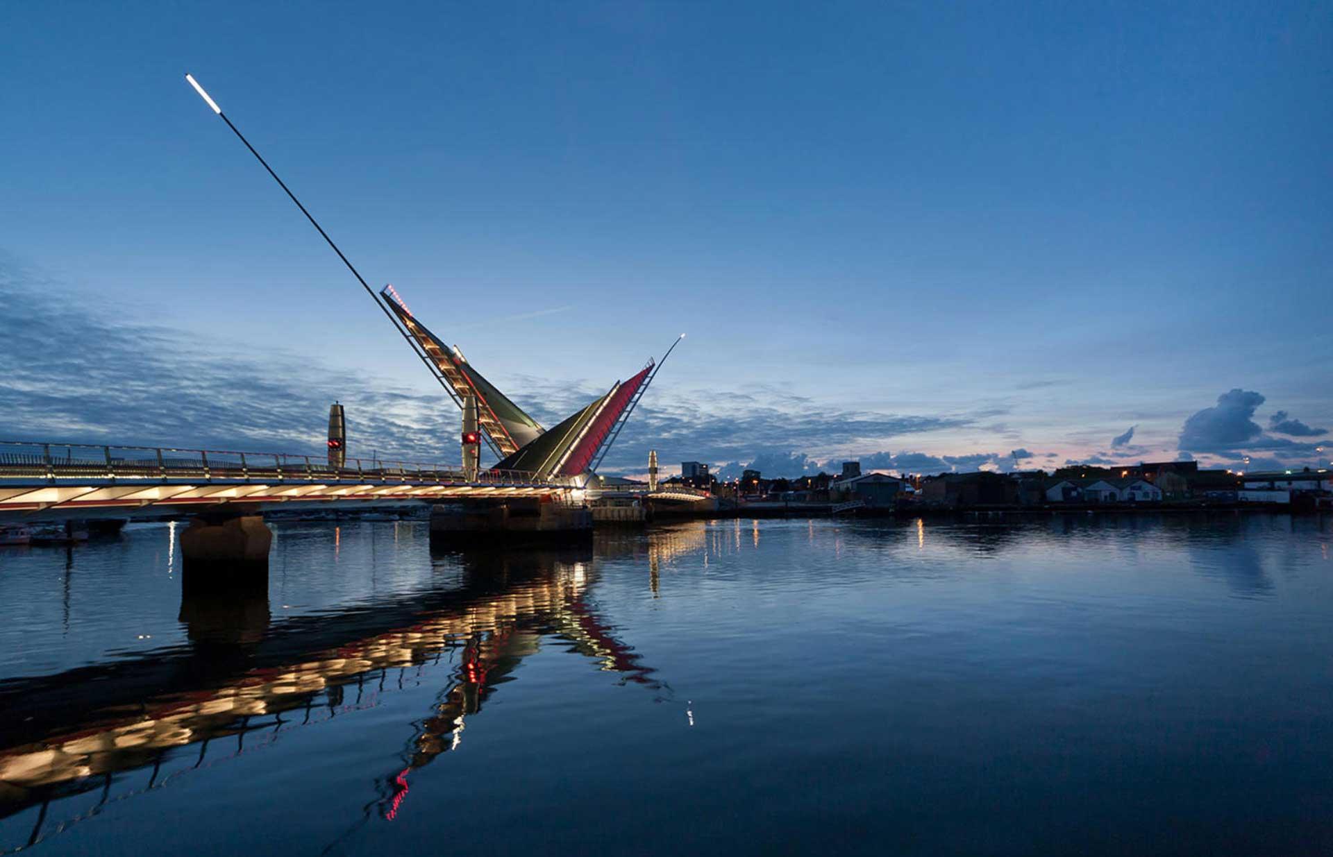 Poole Harbour Twin Sails Bridge - Eadon Consulting