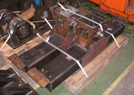 Riversdale Swing Bridge mechanical equipment – Counter weight lift components (Image Movetech UK)