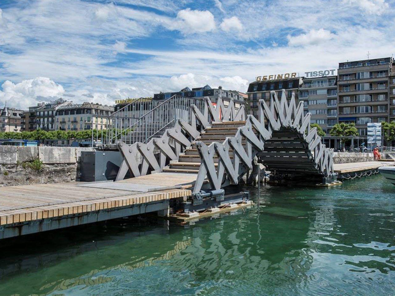 The Ripple Bridge at Lake Geneva