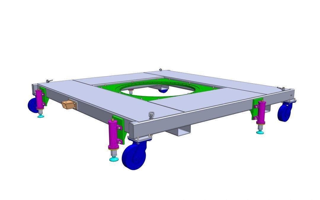 Aerospace trolley 3D model