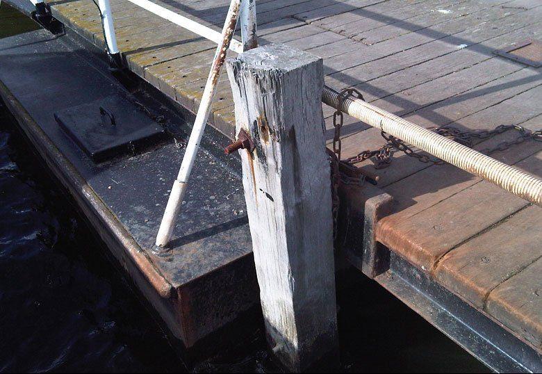 Original Heigham Holmes floating Swing Bridge