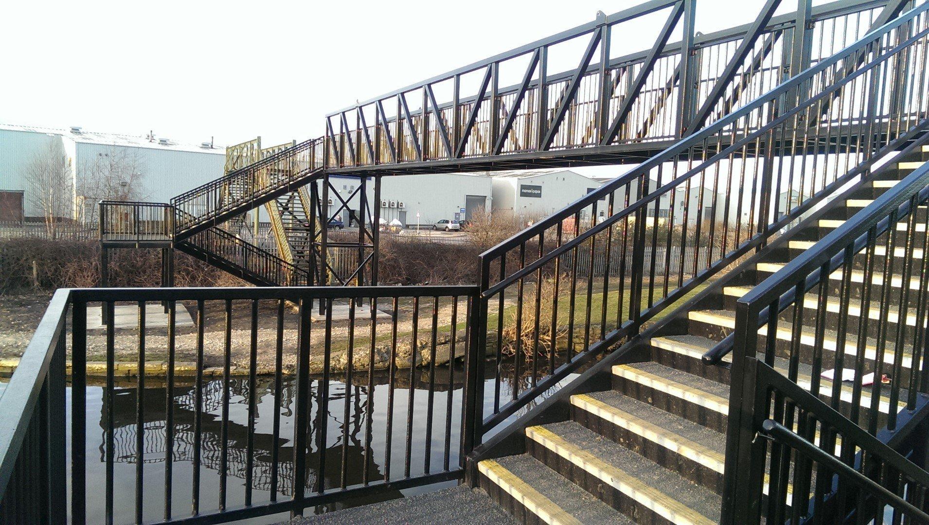 Eastwood Footbridge Rotherham