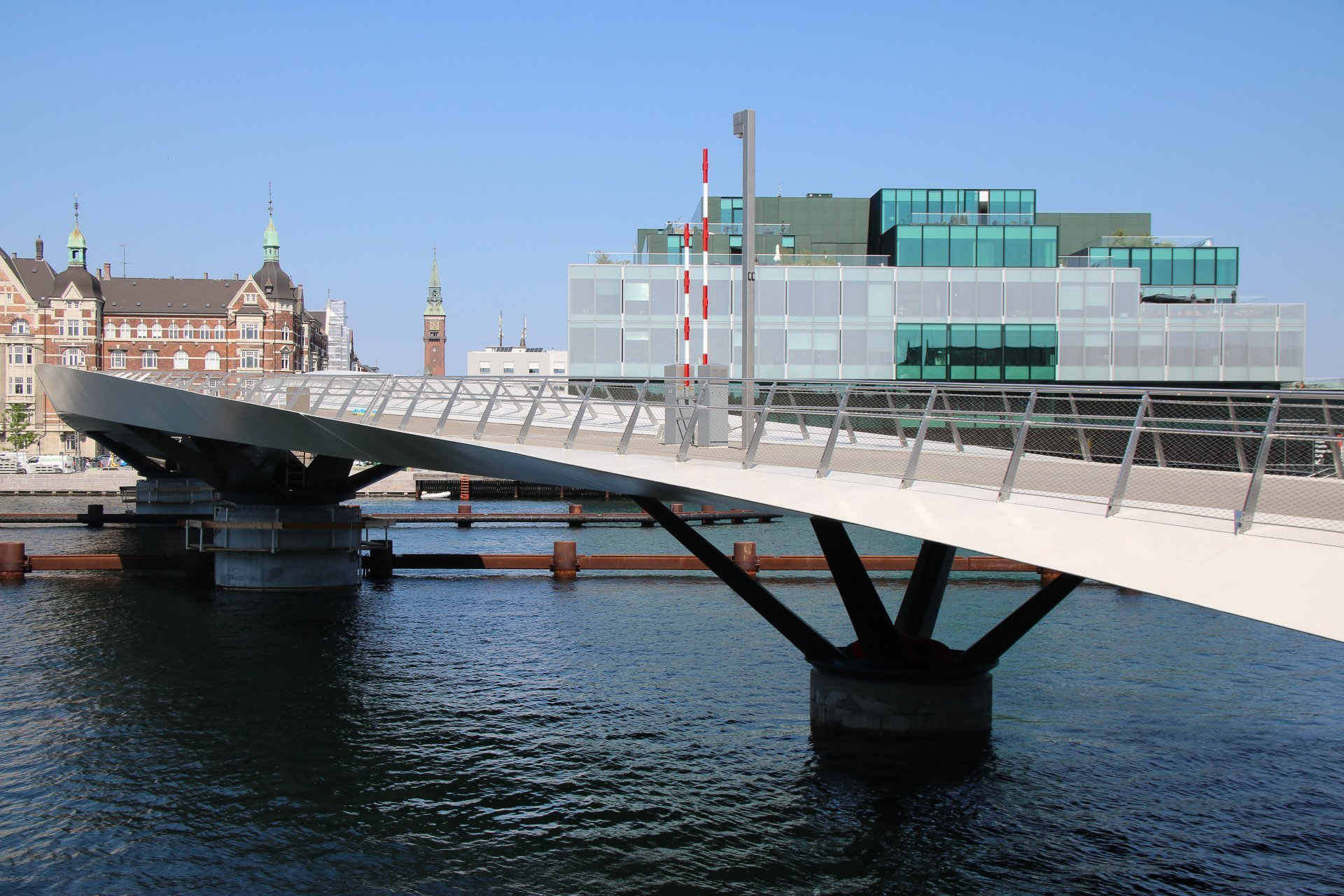 Lille Langebro swing bridge