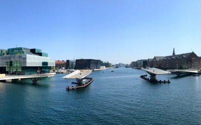 Copenhagen's Lille Langebro Swing Bridge
