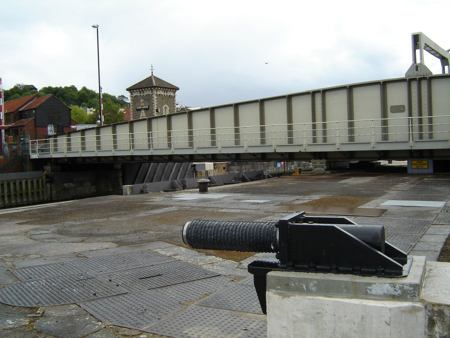 Bristol Junction Lock swing bridge