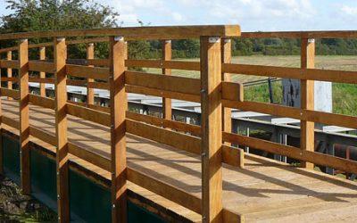 Odder Steel and Timber Footbridge