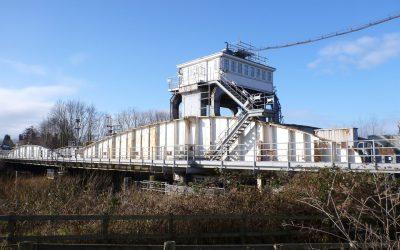 Selby Rail Swing Bridge Refurbishment