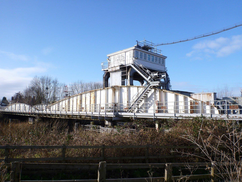 Selby Rail Swing Bridge