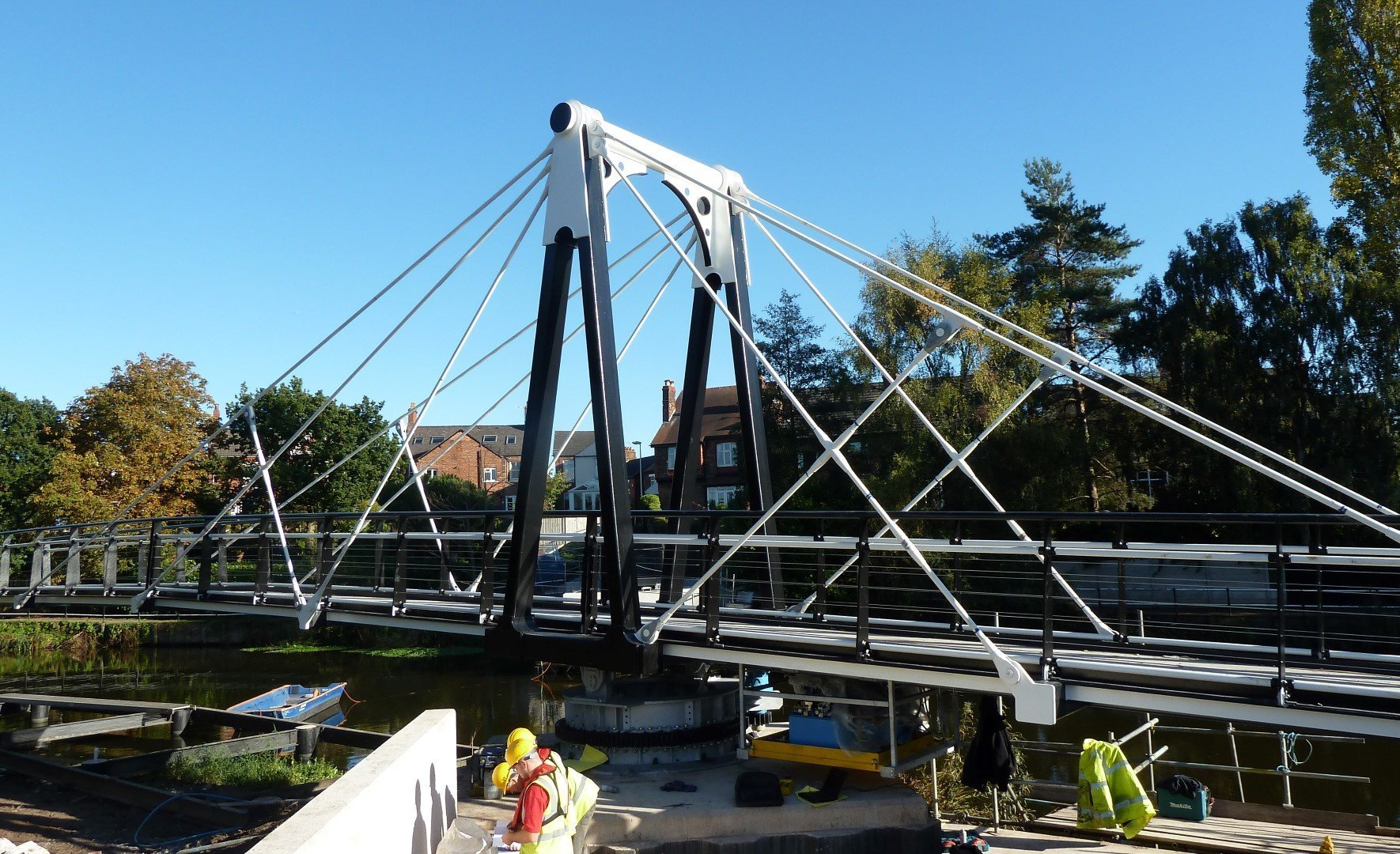 Riversdale Swing bridge