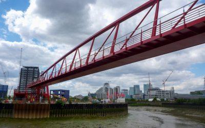Leamouth Vertical Lift Footbridge
