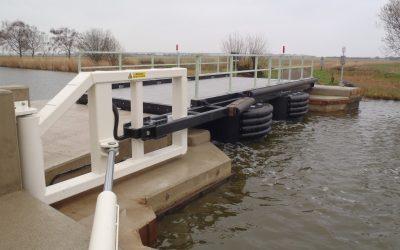Heigham Holmes Floating Pontoon Swing Bridge