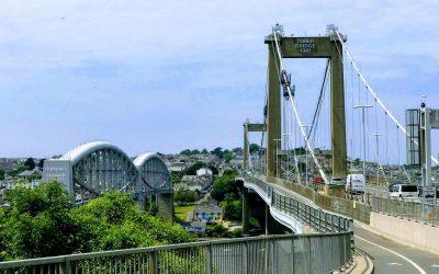 Tamar Bridge Hanger Bolt Replacement