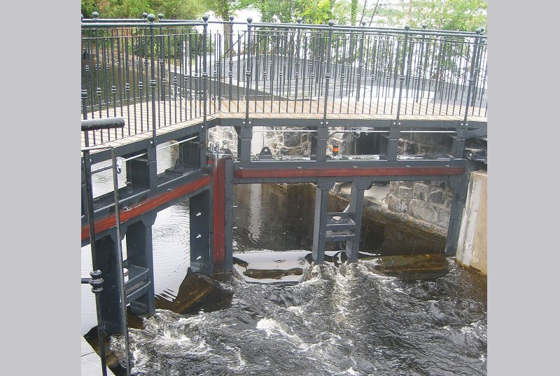 Killaloe Canal Flow Gates and Stop Logs