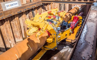 Beatrice DirectPipe® Trenchless Crossing Landfall