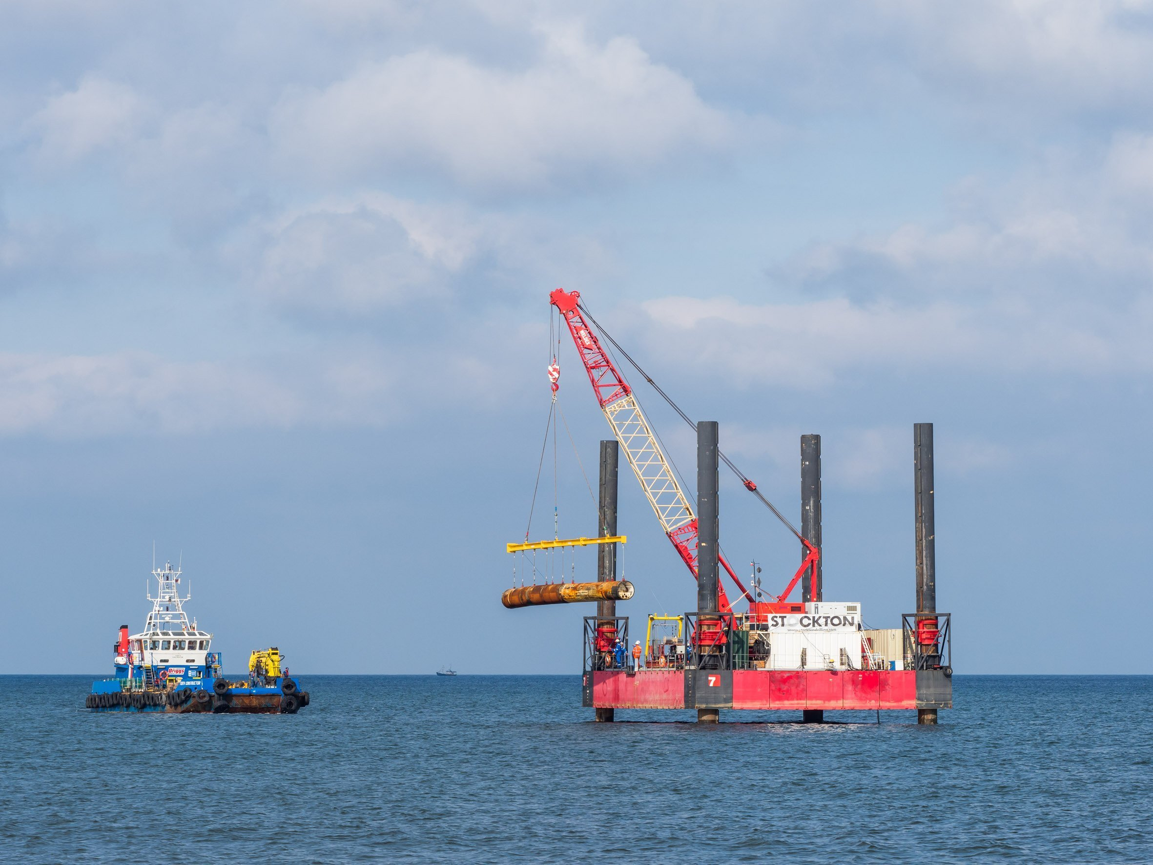 Directional drilling offshore ©Stockton Drilling