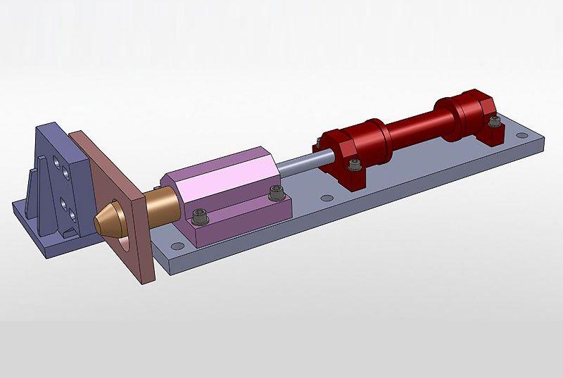 Cley Floodgates locking mechanism