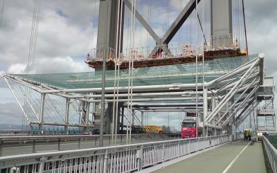Forth Road Bridge Dropped Object Canopy
