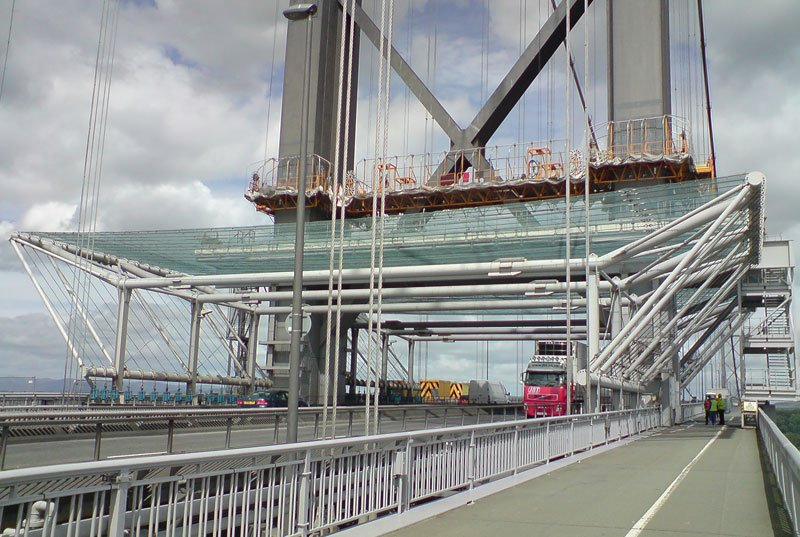 Forth Road Bridge Dropped Object Canopy Erection