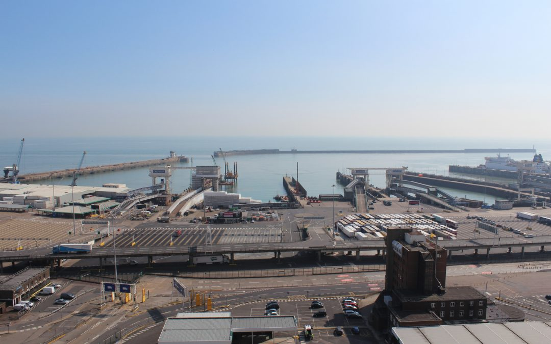 Port of Dover from the cliffs