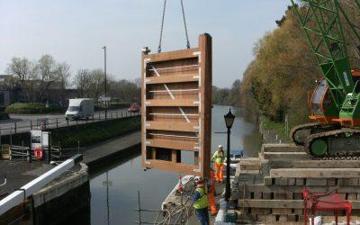 Netham Timber Lock Gates