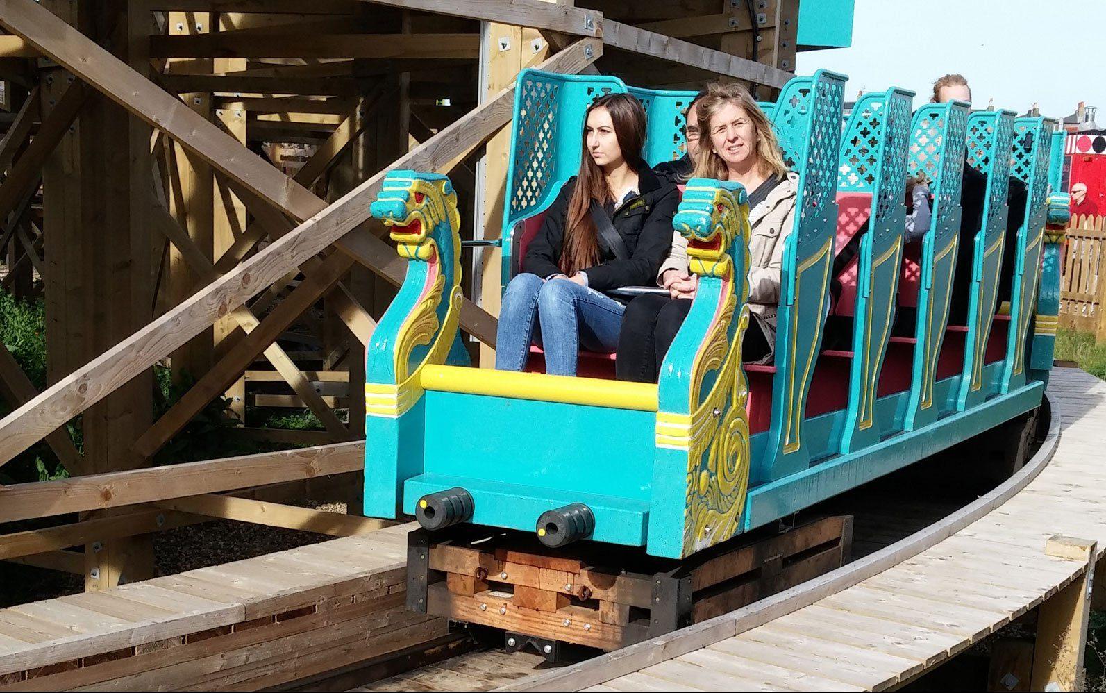 Dreamland Scenic Railway Roller Coater