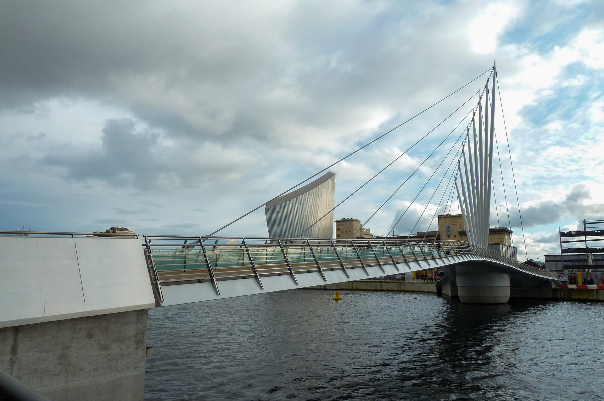 Media City Swing bridge